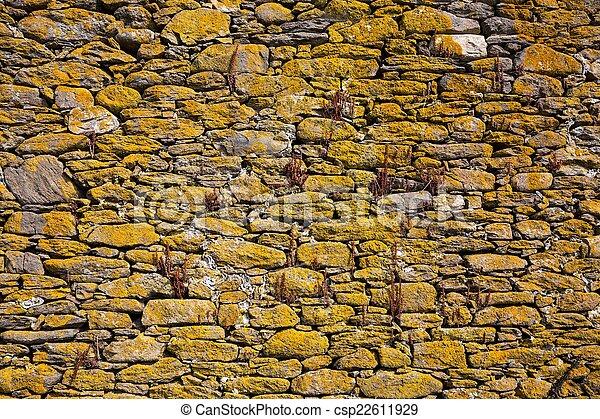 Muro de piedra - csp22611929
