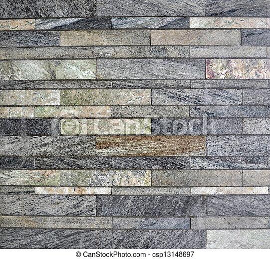 La pared de piedra - csp13148697
