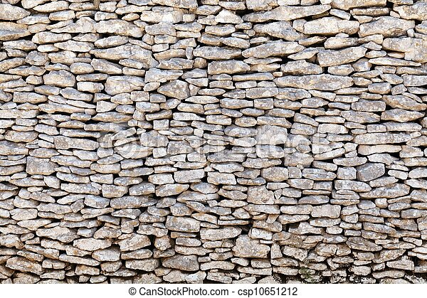 Viejo muro de piedra - csp10651212