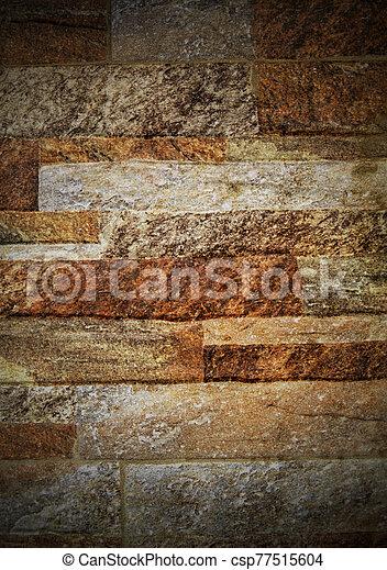pared, plano de fondo, colorido, piedra - csp77515604