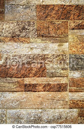 pared, plano de fondo, colorido, piedra - csp77515606