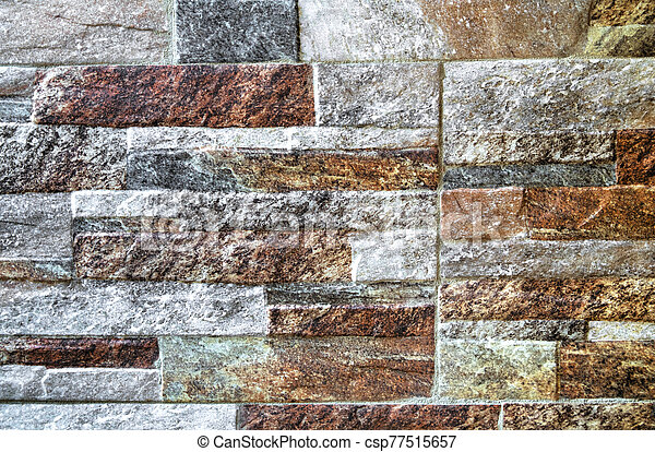 pared, plano de fondo, colorido, piedra - csp77515657