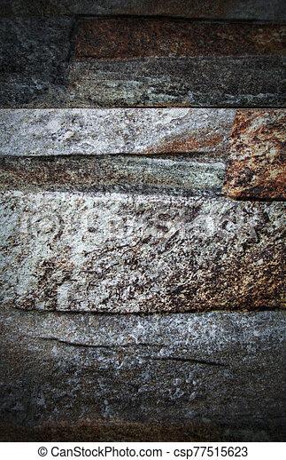 pared, plano de fondo, colorido, piedra - csp77515623