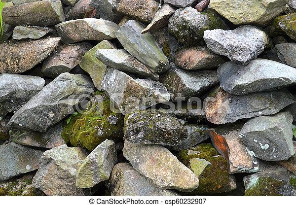 pared, roca - csp60232907