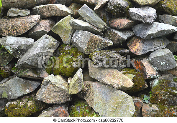 pared, roca - csp60232770