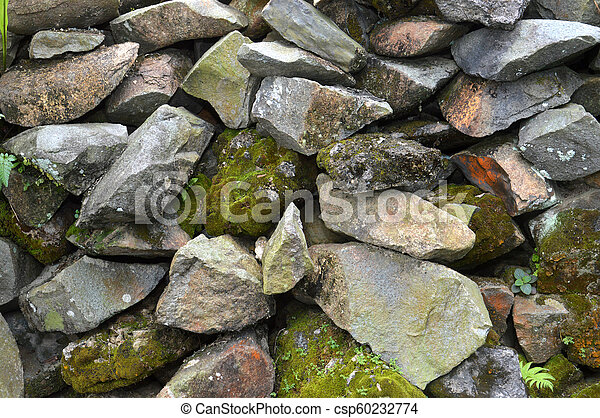 pared, roca - csp60232774
