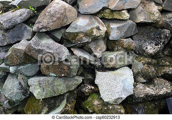 pared, roca - csp60232913