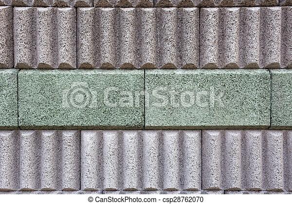El muro de la barrera del ruido - csp28762070