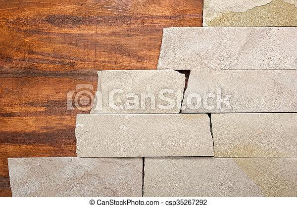 Material de fondo de piedra - csp35267292