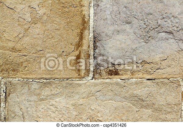 Masonería de fondo de textura de piedra pared - csp4351426