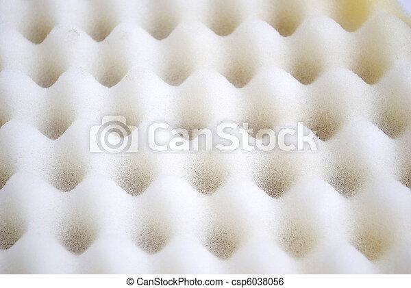 parede, acústico, espuma - csp6038056