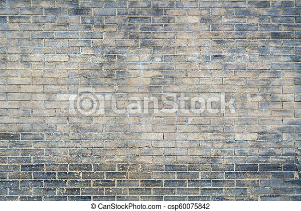 parede, tijolo, antigas, fundo, textura - csp60075842