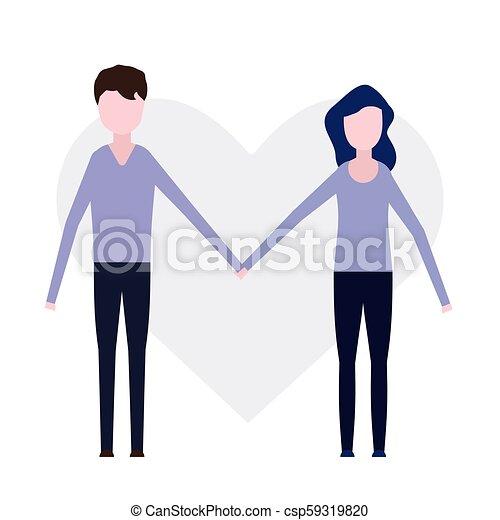 Una pareja enamorada - csp59319820
