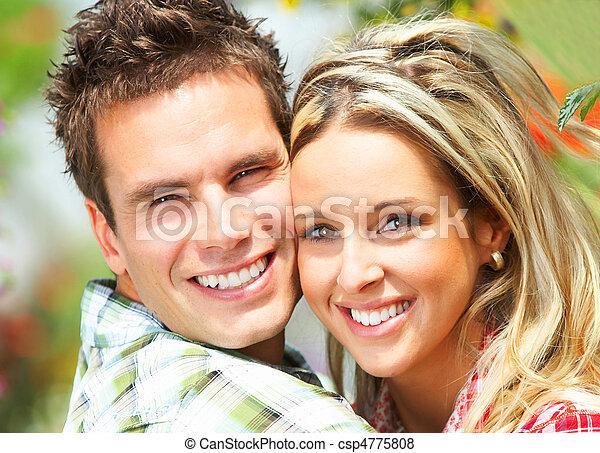 pareja, amor - csp4775808