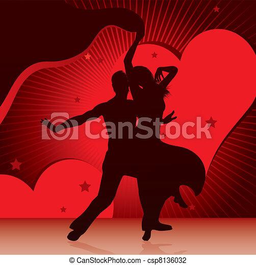 Parejas de baile - csp8136032