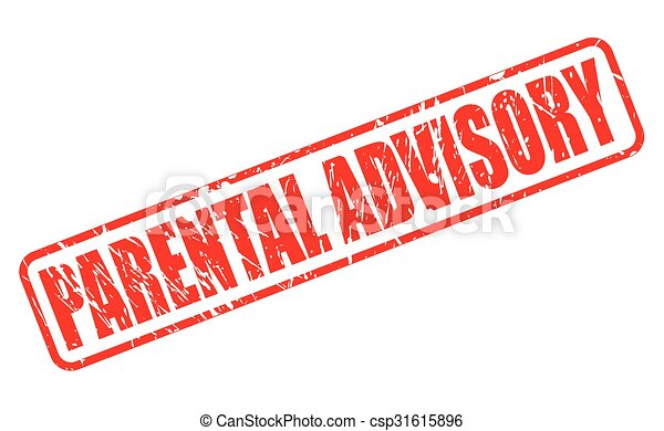 parental advisory red stamp text on white rh canstockphoto com free vector parental advisory logo