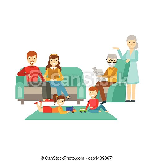 Image Result For Family Time - Family Time - Free Transparent PNG Clipart  Images Download