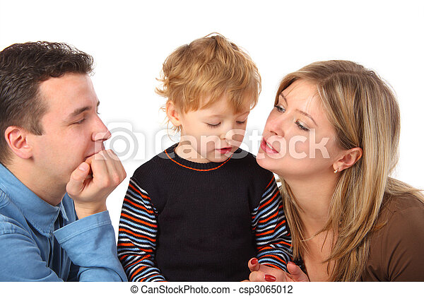 Parents and son - csp3065012