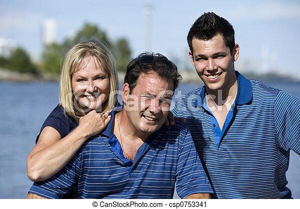 parents, fils - csp0753341