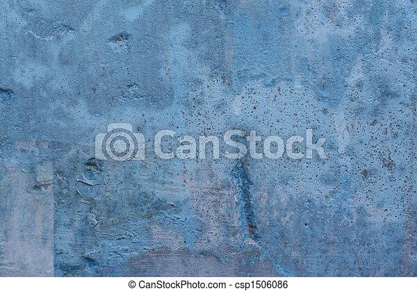 parete blu, fondo - csp1506086
