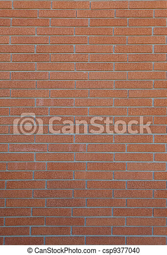 parete, fondo, abbronzatura, mattone - csp9377040