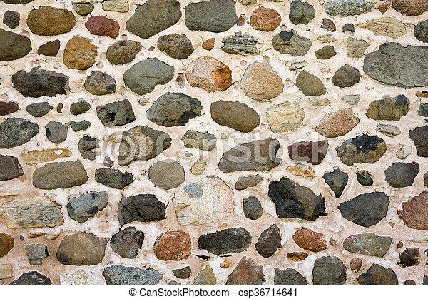 parete, fondo, pietra, campo - csp36714641