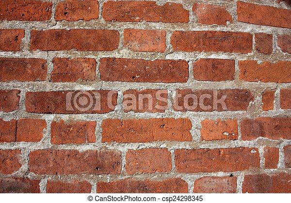parete, mattone, vecchio - csp24298345
