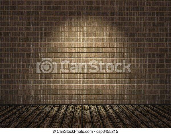 parete, mattone, vecchio - csp8455215
