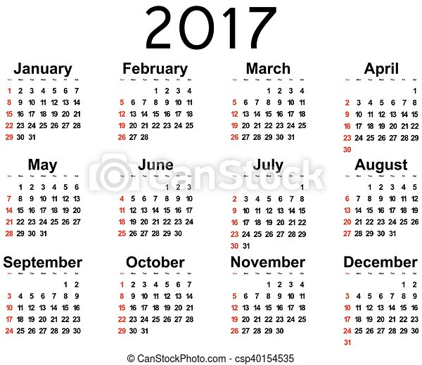 Calendario Grande.Parete Nuovo Grande 2017 Calendario