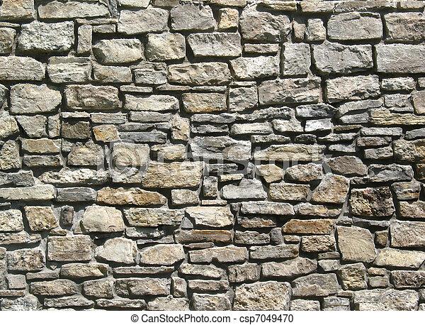 parete, pietra - csp7049470