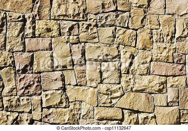 parete, pietra, fondo - csp11132647