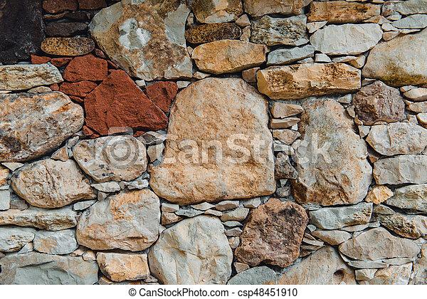 parete, pietra, fondo - csp48451910