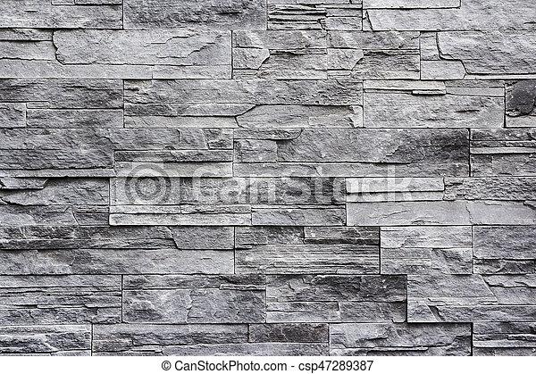 parete, pietra, fondo - csp47289387