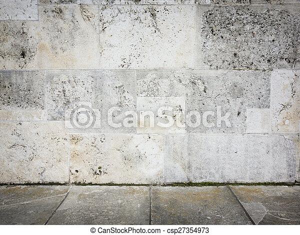 parete, pietra - csp27354973