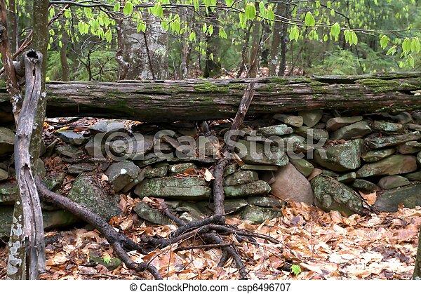 parete, pietra - csp6496707