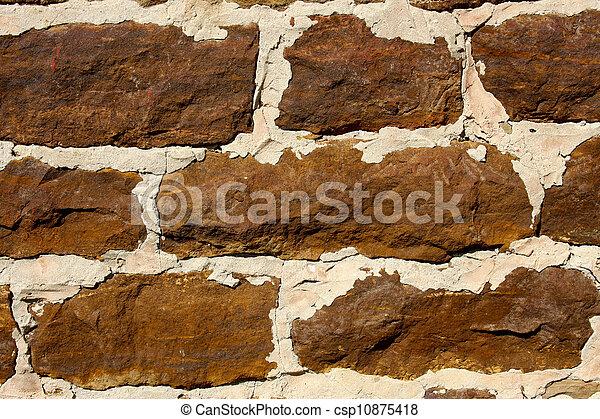 parete, sanstone, fondo - csp10875418