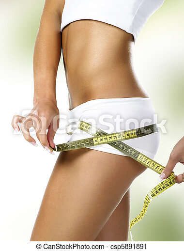 parfait, corps, femme - csp5891891