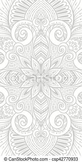 Parfait Vecteur Yoga Conception Vacances Inde Anniversaire Mandala Kaléidoscope Arabe Médaillon Tattoo Autre Carte