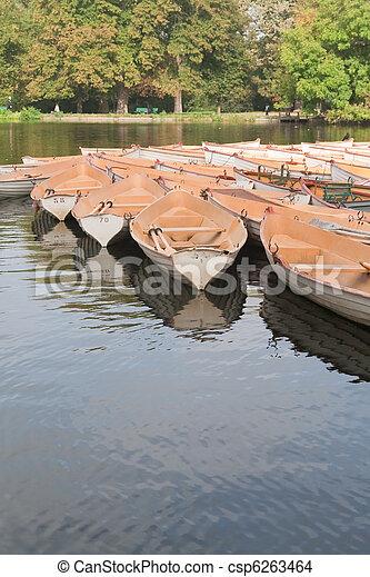 paris, bateau, boulogne - csp6263464