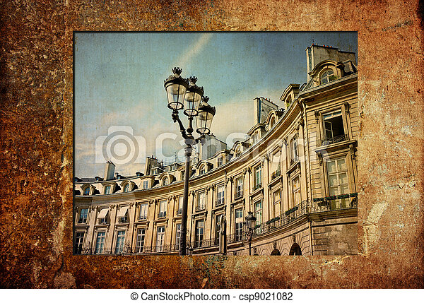 paris, démodé, france - csp9021082