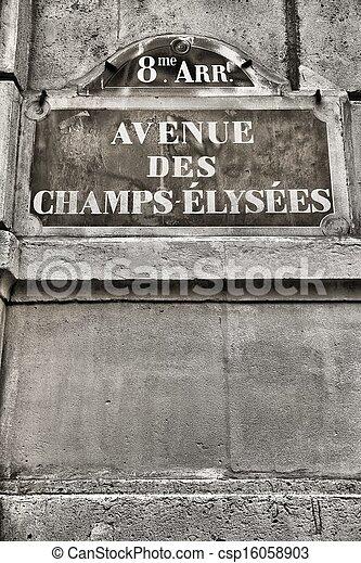 Paris detail - csp16058903