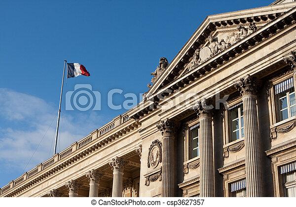 Paris France Champs Elysees - csp3627357
