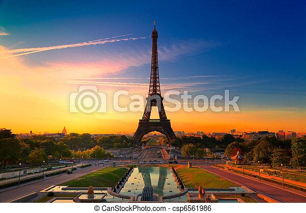 Paris, France - csp6561986