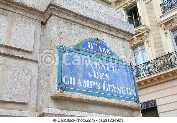 Paris, France - csp31234921