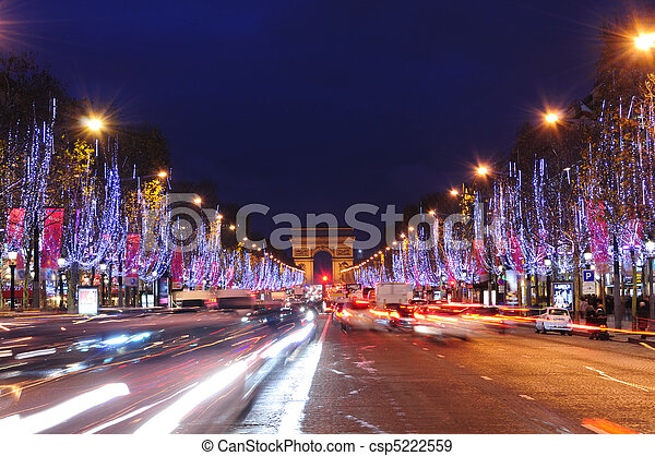 Paris, France - csp5222559