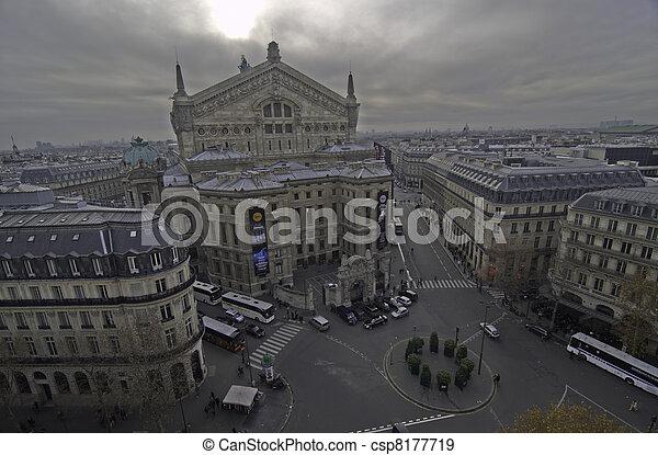 Paris in Winter - csp8177719