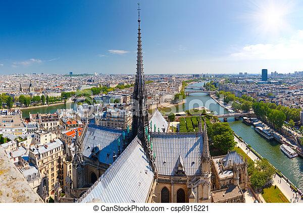 paris, notre dame - csp6915221