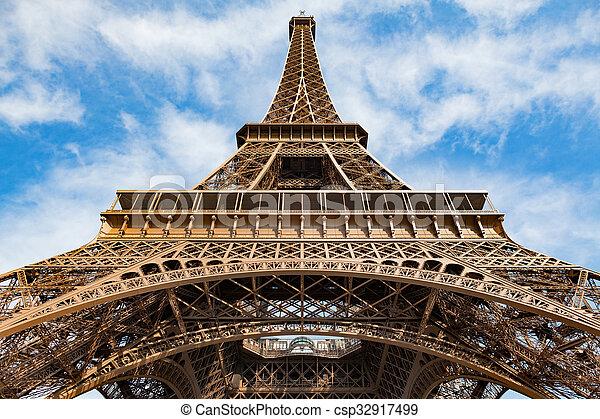 paris, tour, eiffel - csp32917499