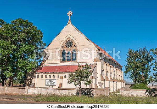Parish of All Saints Anglican Church in Kimberley - csp28476829