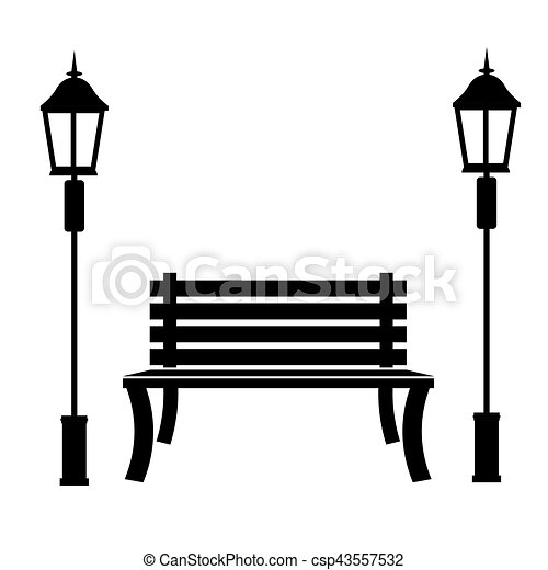 park bench icon image vector illustration design vectors search rh canstockphoto co uk  park bench clipart